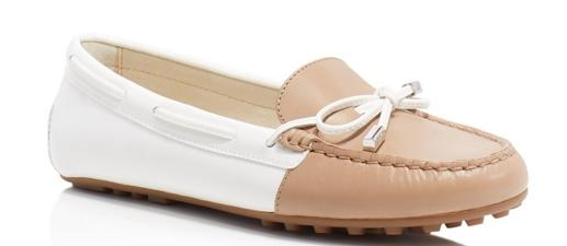 MICHAEL Michael Kors Daisy Two Tone Moccasin Flats