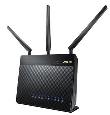 ASUS RT-AC68A AC1900 Wireless Dual Band Smart Wi-Fi Router