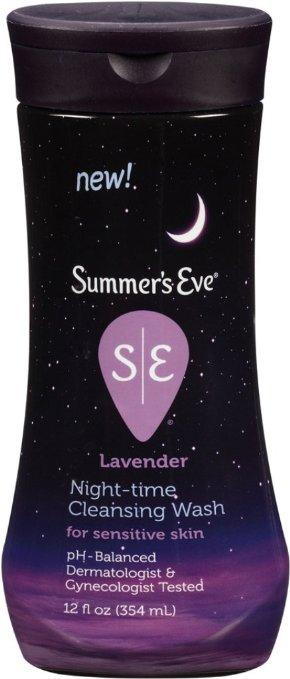 $4.98 Summer's Eve Night-Time Cleansing Wash, Lavender, 12 Ounce