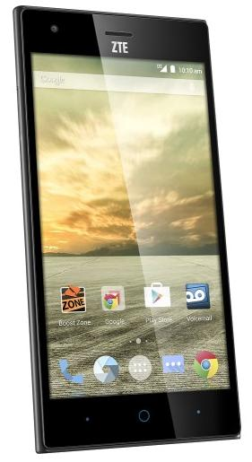 Boost Mobile ZTE Warp Elite 4G with 16GB Memory No-Contract Cell Phone