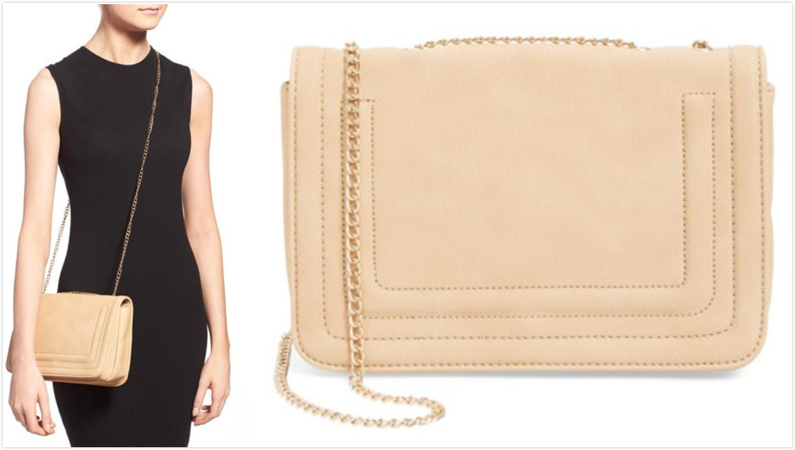 $17.98 BP. Quilted Faux Leather Crossbody Bag On Sale @ Nordstrom