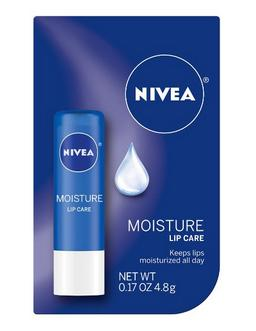 $9.49 Nivea a Kiss of Moisture Essential Lip Care, 0.17-Ounce Sticks (Pack of 6)