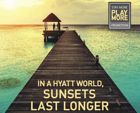 Register Now Stay More Play More Promotion @Hyatt