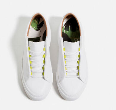 $39.9 Lace-up Plimsolls