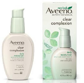 $6.85 Aveeno Clear Complexion Daily Moisturizer, 4 Ounce