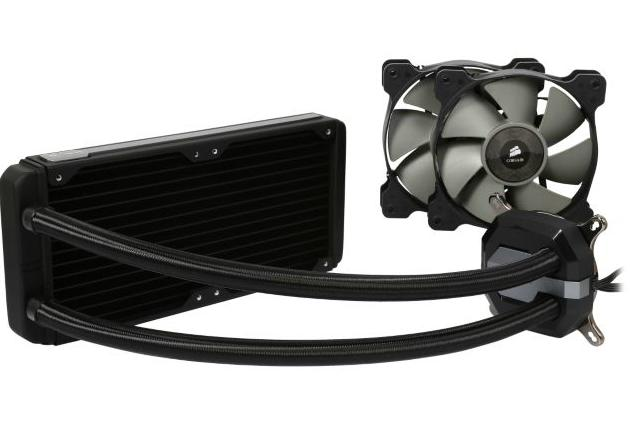 Corsair H100i GTX Extreme Performance Liquid CPU Cooler