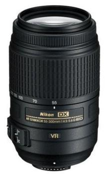 Nikon 55-300mm f/4.5-5.6G ED AF-S DX VR Vibration Reduction Lens Refurbished