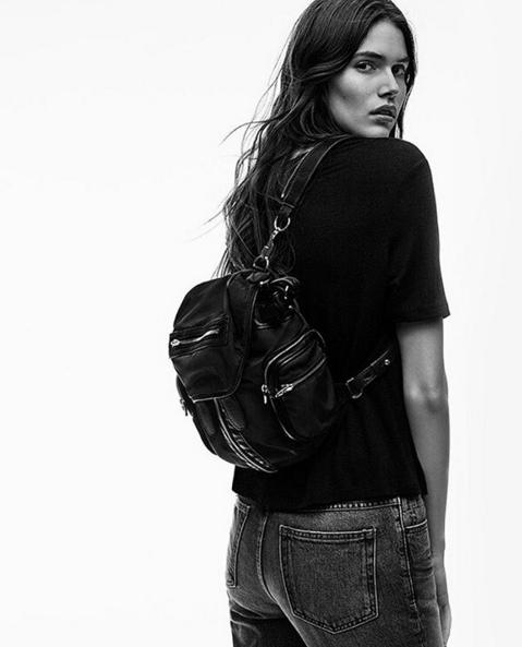 ALEXANDER WANG Marti nubuck backpack @ THE OUTNET