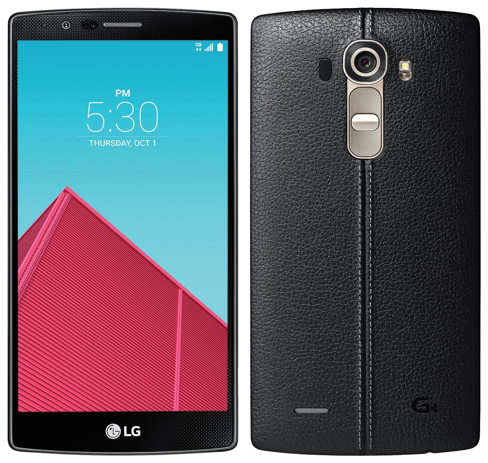 LG G4 Unlocked - Black Leather 32GB (U.S. Warranty)