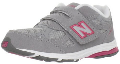 New Balance KV990 Hook and Loop Running Shoe (Infant)