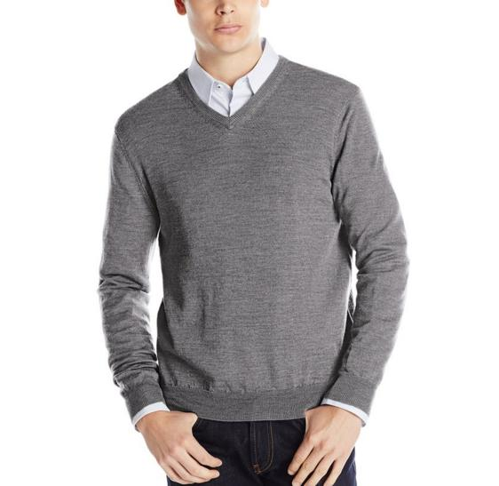 From $22.04 Calvin Klein Men's Merino V-Neck Sweater