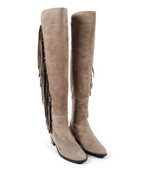 Stuart Weitzman Mane Over the Knee Stretch Boot