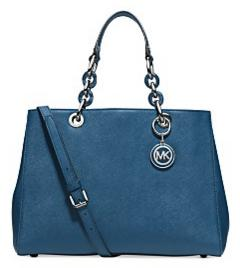 MICHAEL Michael Kors Cynthia Medium Leather Satchel