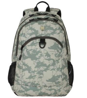 SwissGear SA6621 Light Green Camoflage Print Computer Backpack @ Amazon