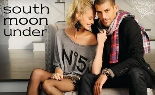 Extra 40% Off+Free Shipping Final Sale @ SouthMoonUnder