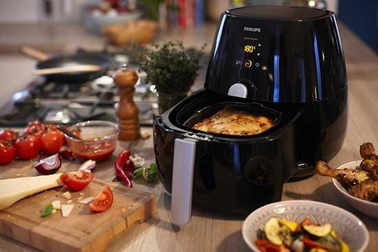 Philips HD9220/26-56 Viva Airfryer Black Factory Reconditioned