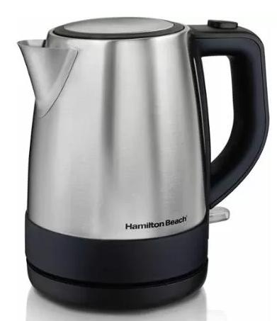 Hamilton Beach 1 L Stainless Steel Electric Kettle @ Walmart