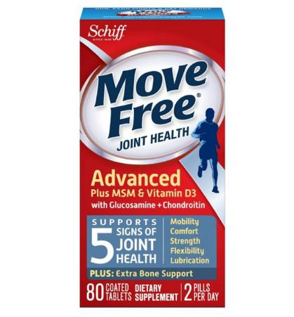 #1 Best seller! $13.43 Move Free Joint Health Advanced Plus MSM & Vitamin D3