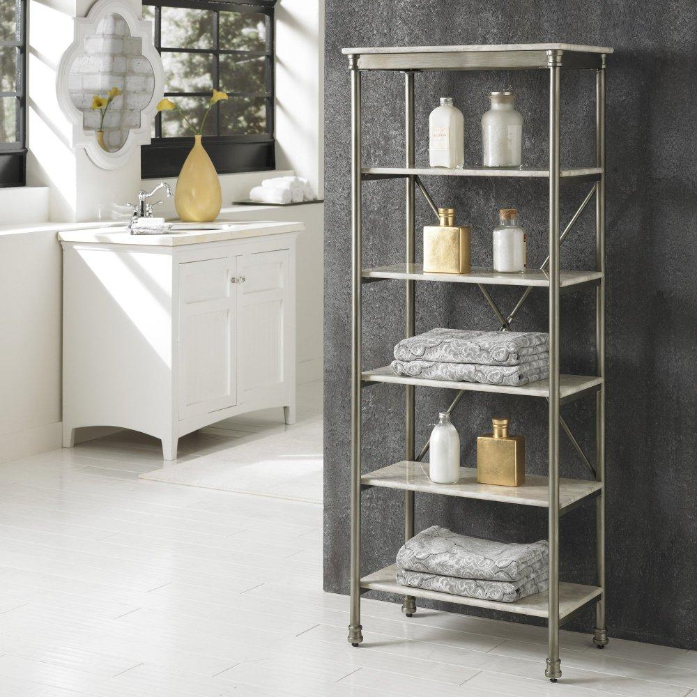 From $26.54 Home Styles The Orleans Shelves@amazon