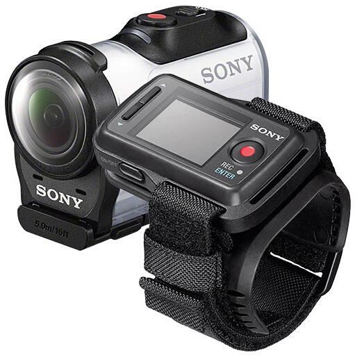 Sony AZ1V HD Mini Action Cam and Sony Live View Remote RMLVR2 (2nd Generation)