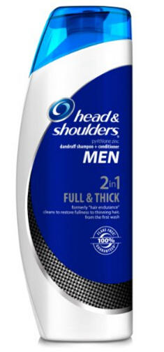 Men Full & Thick 2-in-1 Dandruff Shampoo + Conditioner 13.5 Fl Oz