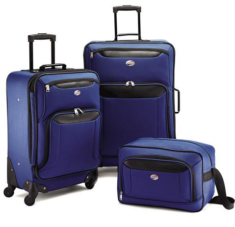 $54.99 American Tourister Brookfield 3 PC Set Luggage