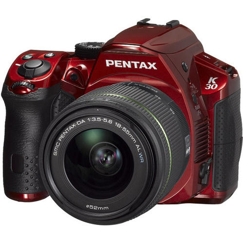 Pentax K-30 16MP Weatherproof DSLR 18-55mm WR Lens