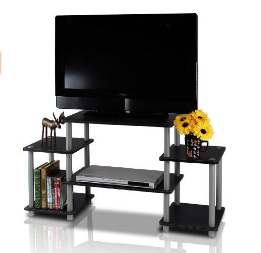 Lowest price! $24.99 Furinno Turn-N-Tube No Tools Entertainment TV Stands