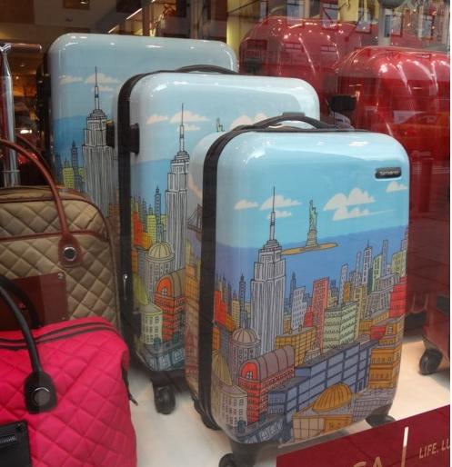 "$269.99 Samsonite CityScapes NYC 3 Piece Premium 20"", 24"", 28"" Spinner Luggage Set"