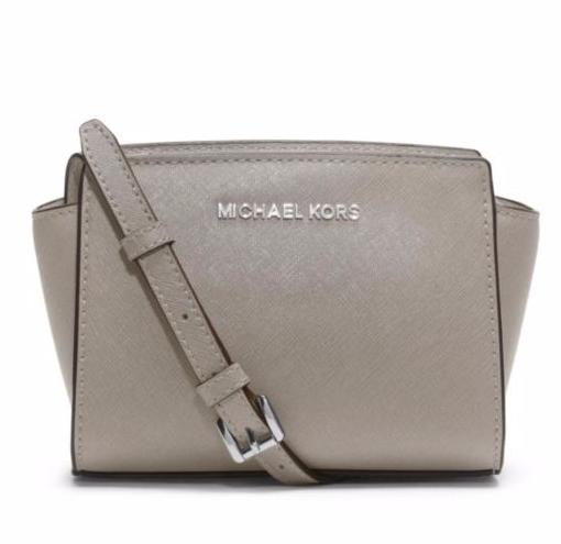 MICHAEL MICHAEL KORS Selma Mini Saffiano Leather Satchel