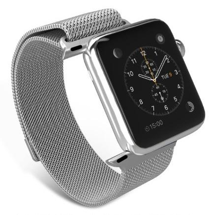 Apple Watch Band, MoKo Milanese Loop Stainless Steel Bracelet Smart Watch Strap for Apple Watch