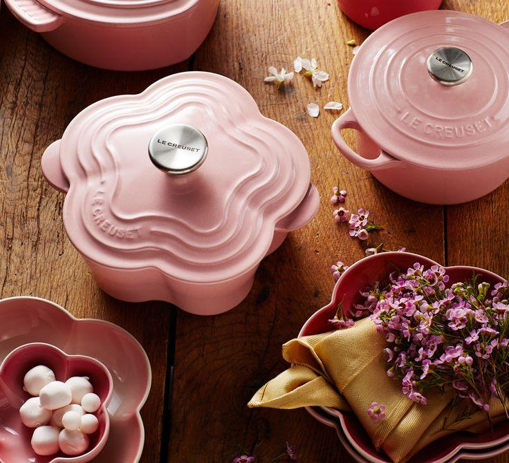 Free PETITE FLOWER COCOTTE with $150 Purchase @Le Creuset