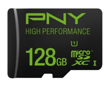 PNY 128GB High Speed MicroSDXC Memory Card