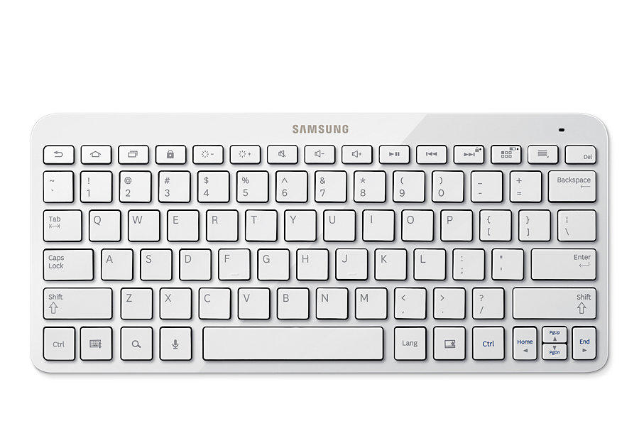Samsung Android Bluetooth Keyboard White