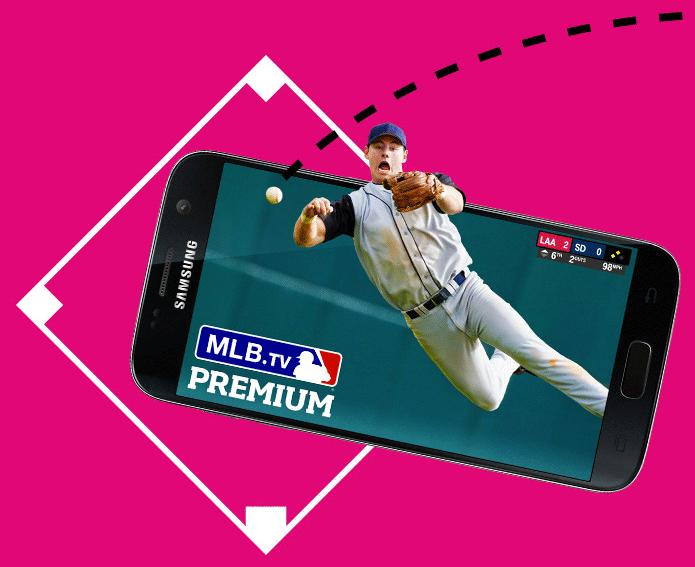 Free! Free MLB.TV Premium for T-Mobile Customers