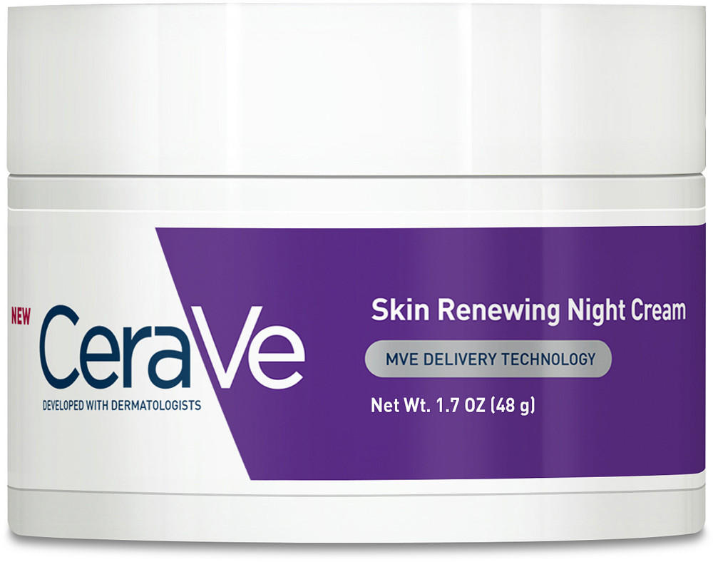 $10.06 CeraVe Renewing System, Skin Renewing Night Cream, 1.7 Ounce