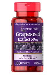 85% Off, From $1.79 Puritan's Pride Grapeseed Extract