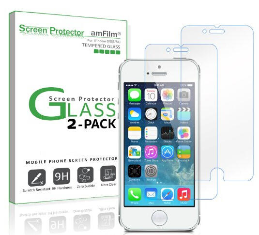 iPhone SE Screen Protector Glass (2-Pack)