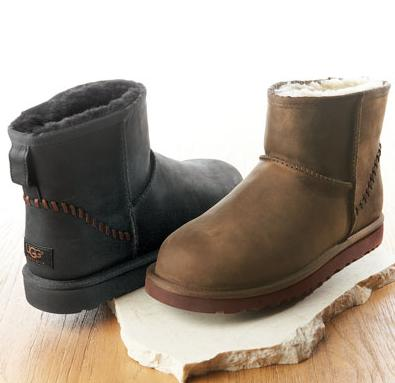 $69.99 UGG Classic Mini Leather Women's Boots On Sale @ 6PM.com