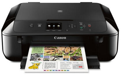 Canon MG5720 Printer Scanner & Copier with Wi-Fi + $30 Vudu & Rhapsody Bundle