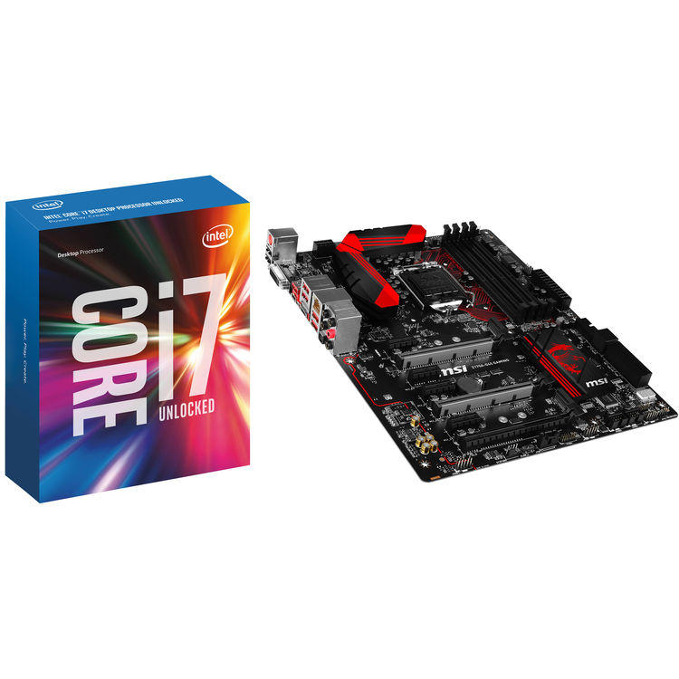 Intel Core i7-6700K CPU + MSI Z170A-G45 Gaming Motherboard