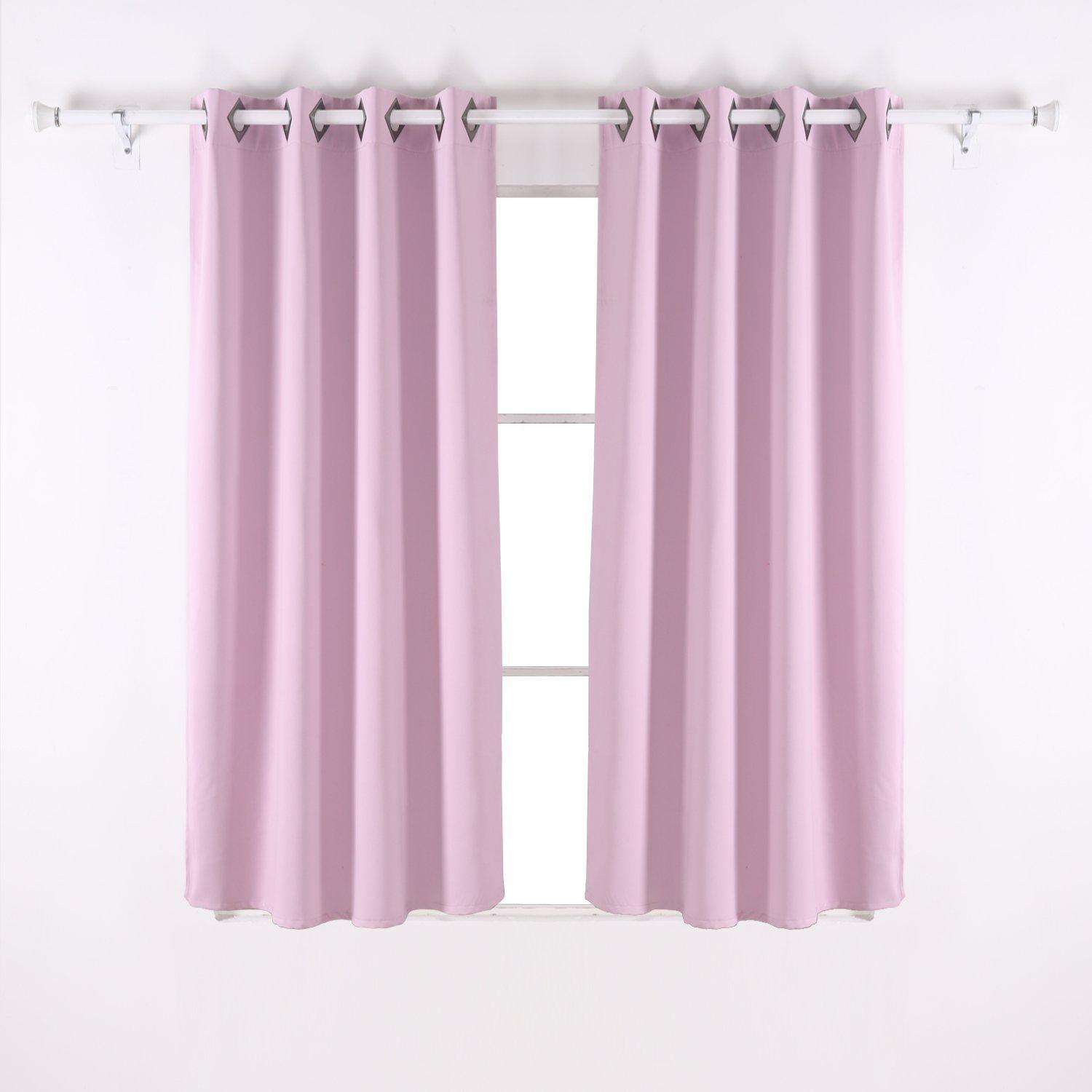 Deconovo Grommet Thermal Insulated Blackout Curtain For Bedroom 52x63 Inch