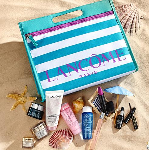 Free 7 pcs Gift ($133 Value) with $39.5 Order @ Lancome