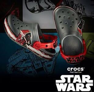 Crocs Kids' Crocband Star Wars Villain Clog (Toddler/Little Kid)