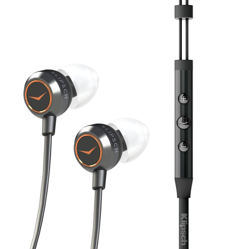Klipsch X4i In-Ear Headphones with In-Line iOS Remote