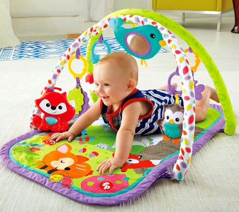 Fisher-Price 3-in-1 Musical Activity Gym @ Amazon