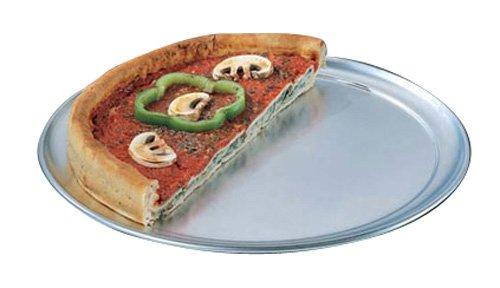 American Metalcraft TP7 TP Series 18-Guage Aluminum Standard Weight Wide Rim Pizza Pan, 7-Inch