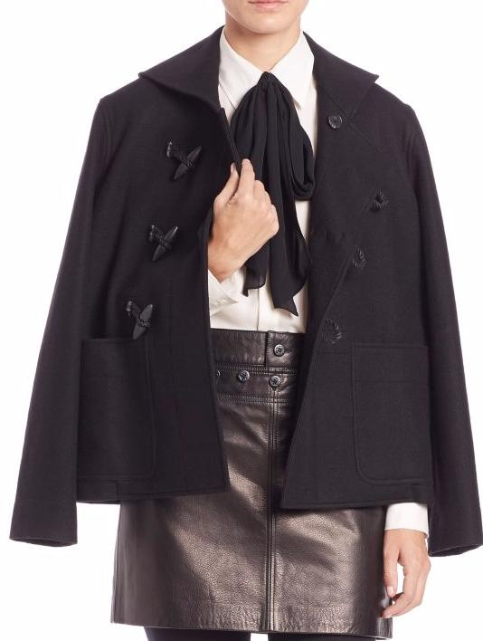 Polo Ralph Lauren Wool-Blend Toggle Coat