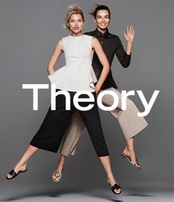 Extra 25% Off Theory Apparel and Shoes @ Bloomingdales