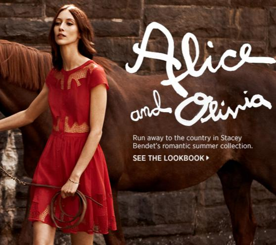 Up to 60% Off Alice + Olivia Dress Sale @ Saks Fifth Avenue